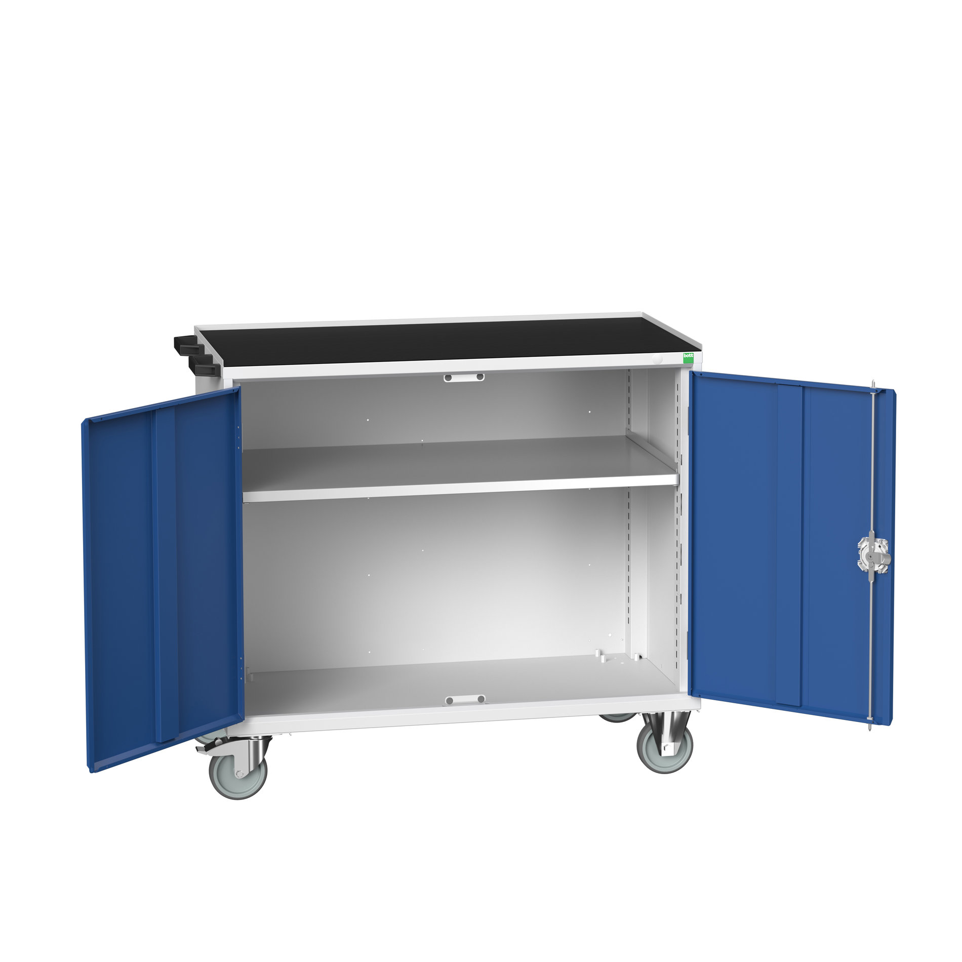 Bott Verso Mobile Cupboard With 1X Shelf & Top Tray With Mat