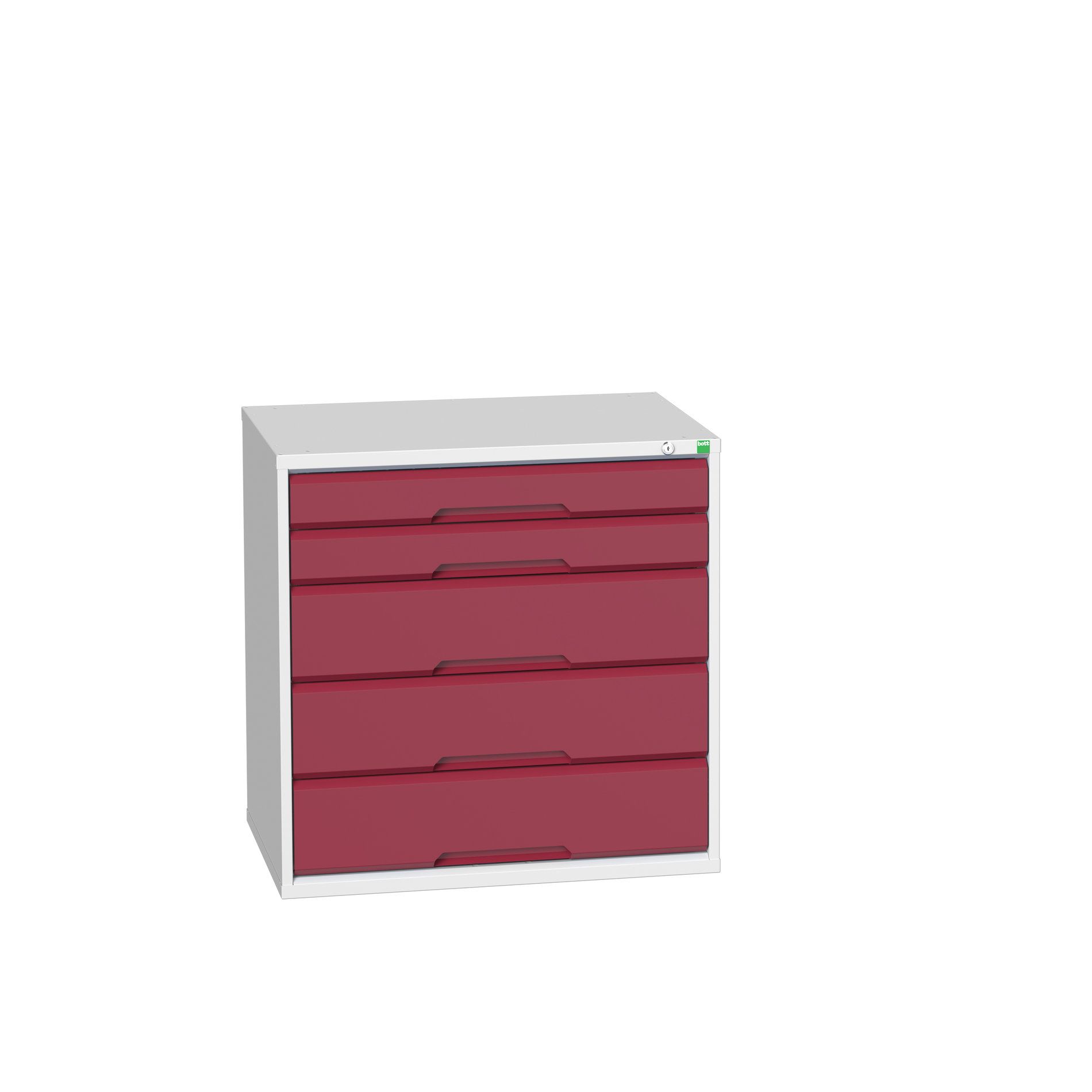 Bott Verso Drawer Cabinet With 5 Drawers