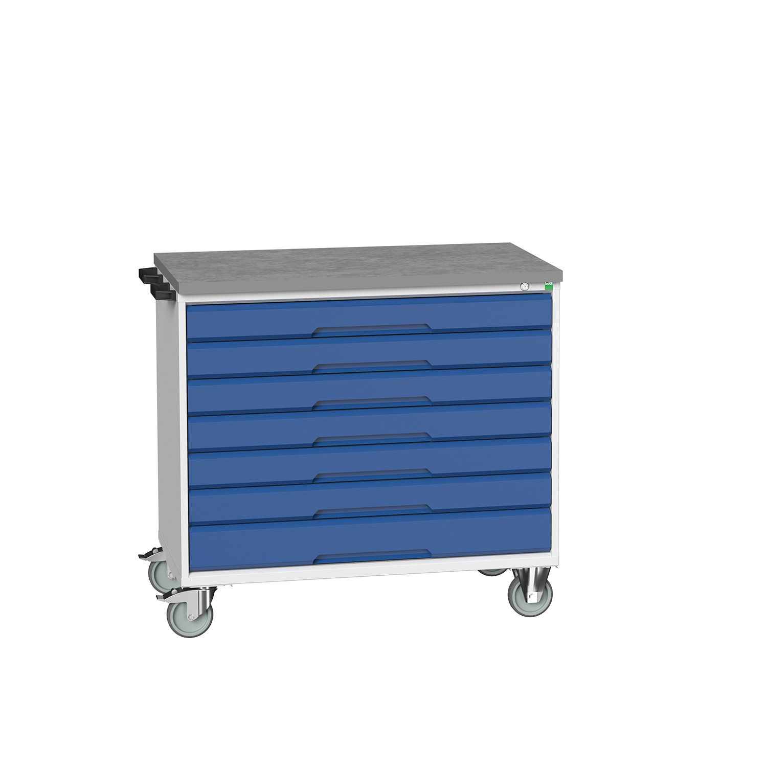 Bott Verso Mobile Drawer Cabinet With 7 Drawers & Lino Top