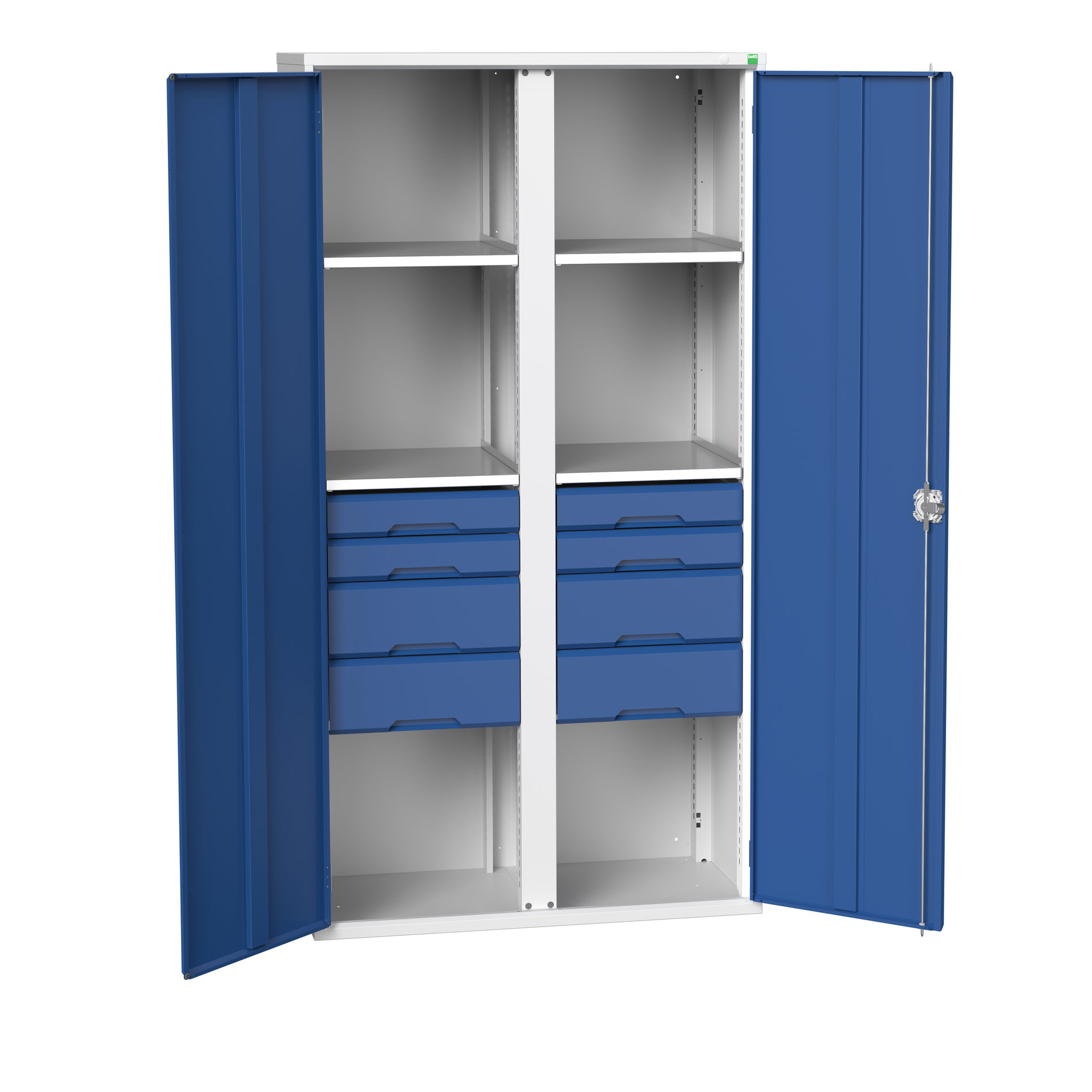 Bott Verso Kitted Cupboard With Vertical Partition