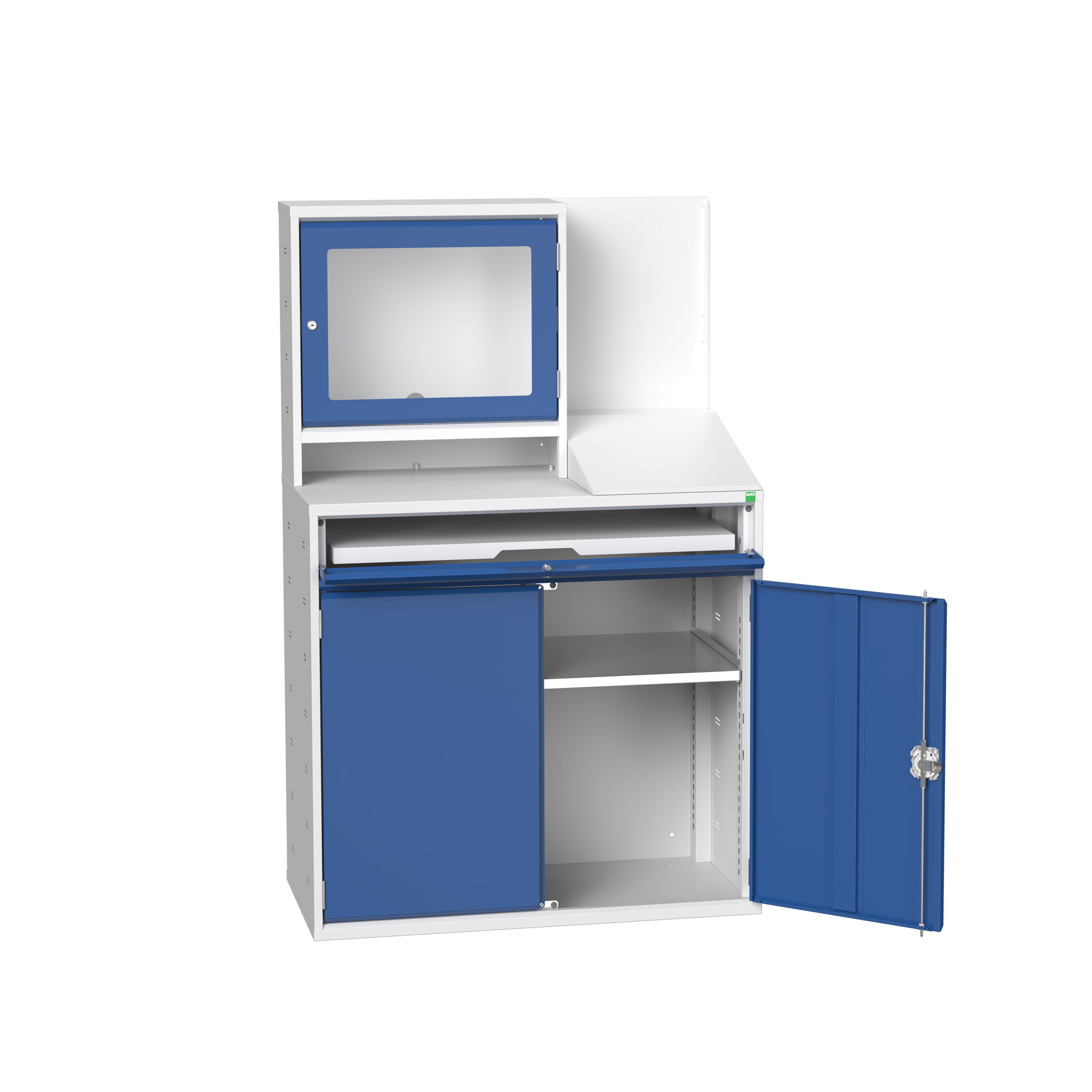 Bott Verso Computer Cupboard With Monitor Cupboard