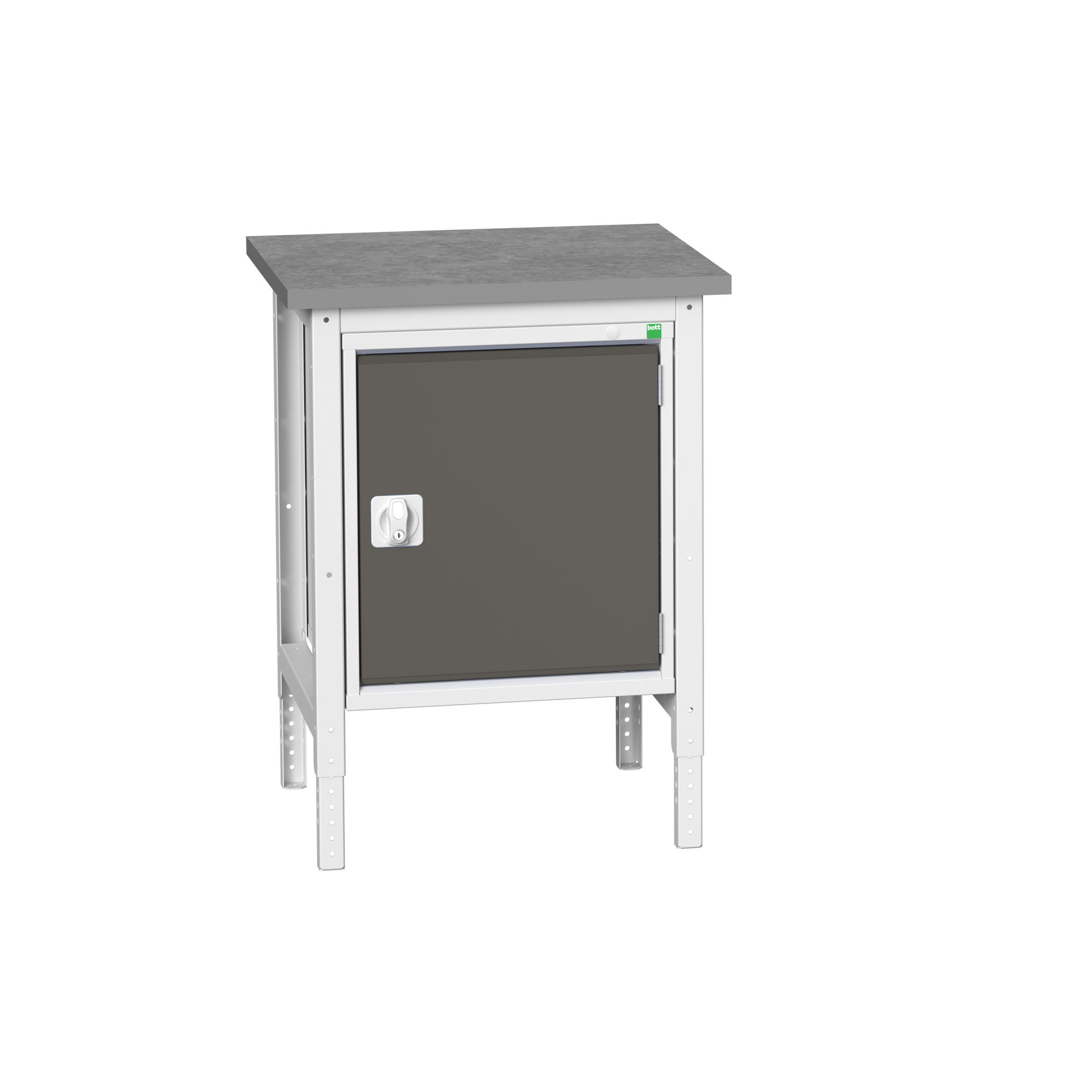 Bott Verso Adjustable Height Workstand With Full Cupboard