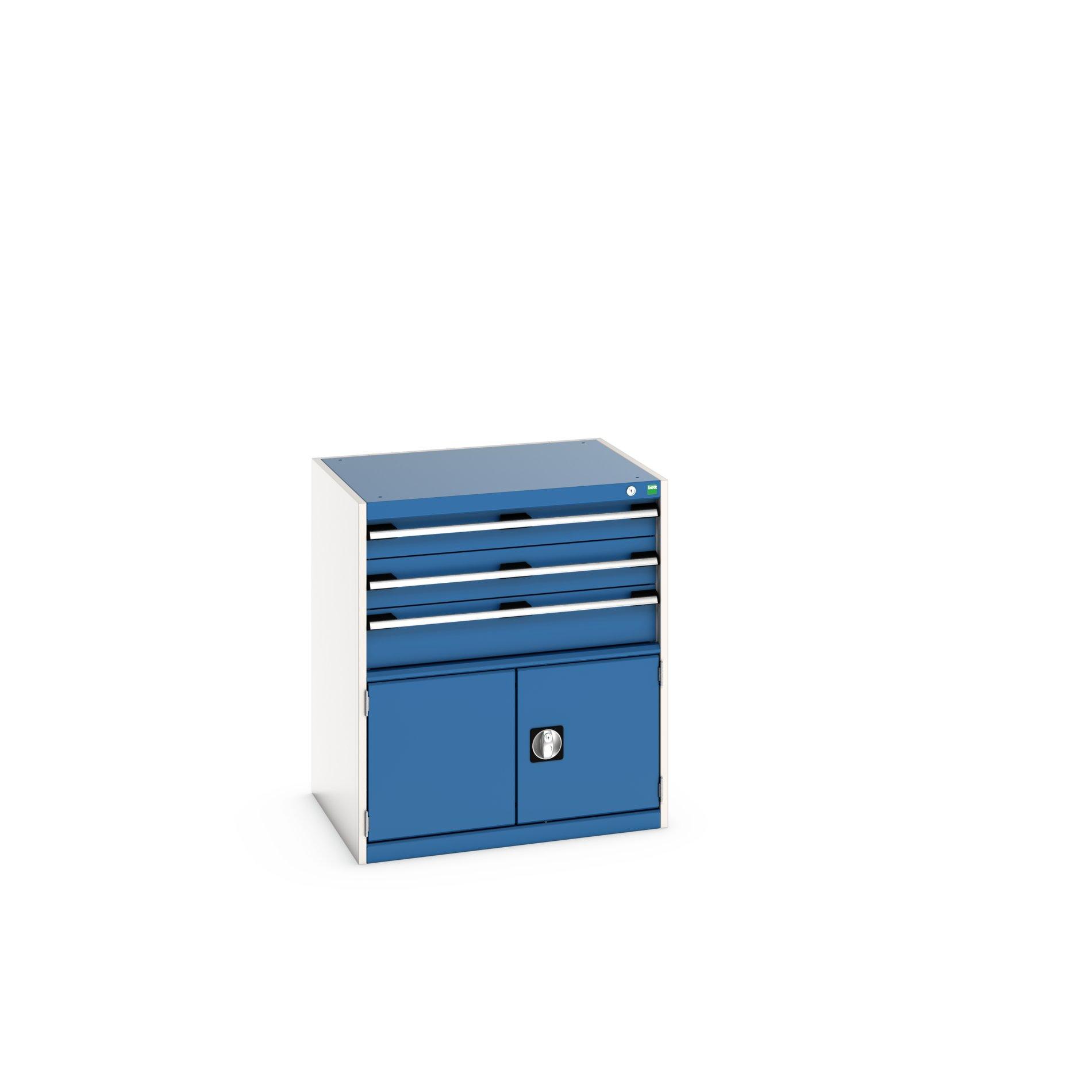 Bott Cubio Drawer-Door Cabinet With 3 Drawers / Cupboard
