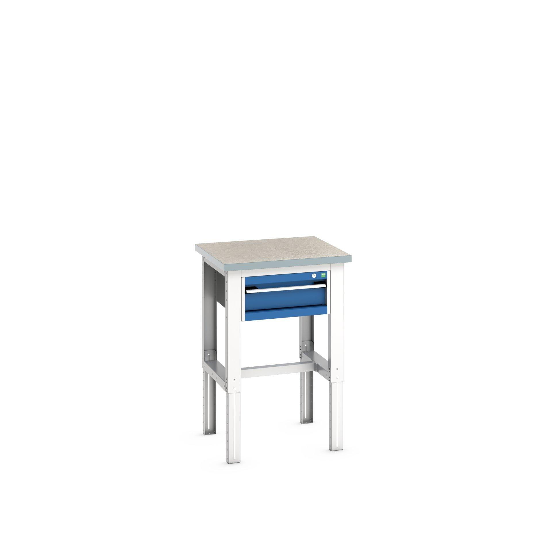 Bott Cubio Adjustable Height Workstand With 1 Drawer Cabinet