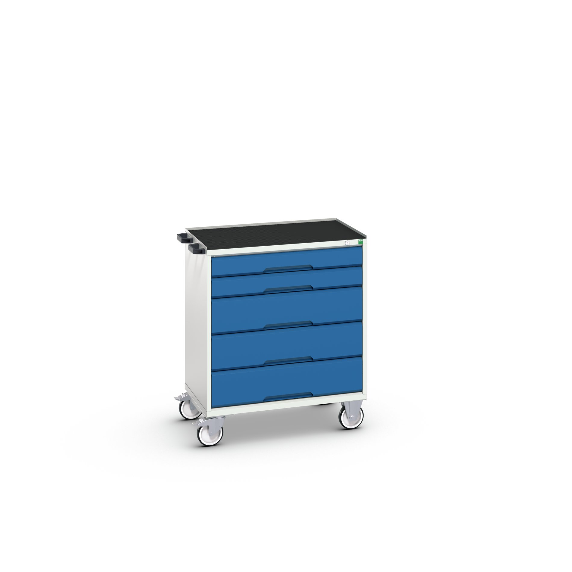 Bott Verso Mobile Drawer Cabinet With 5 Drawers & Top Tray With Mat