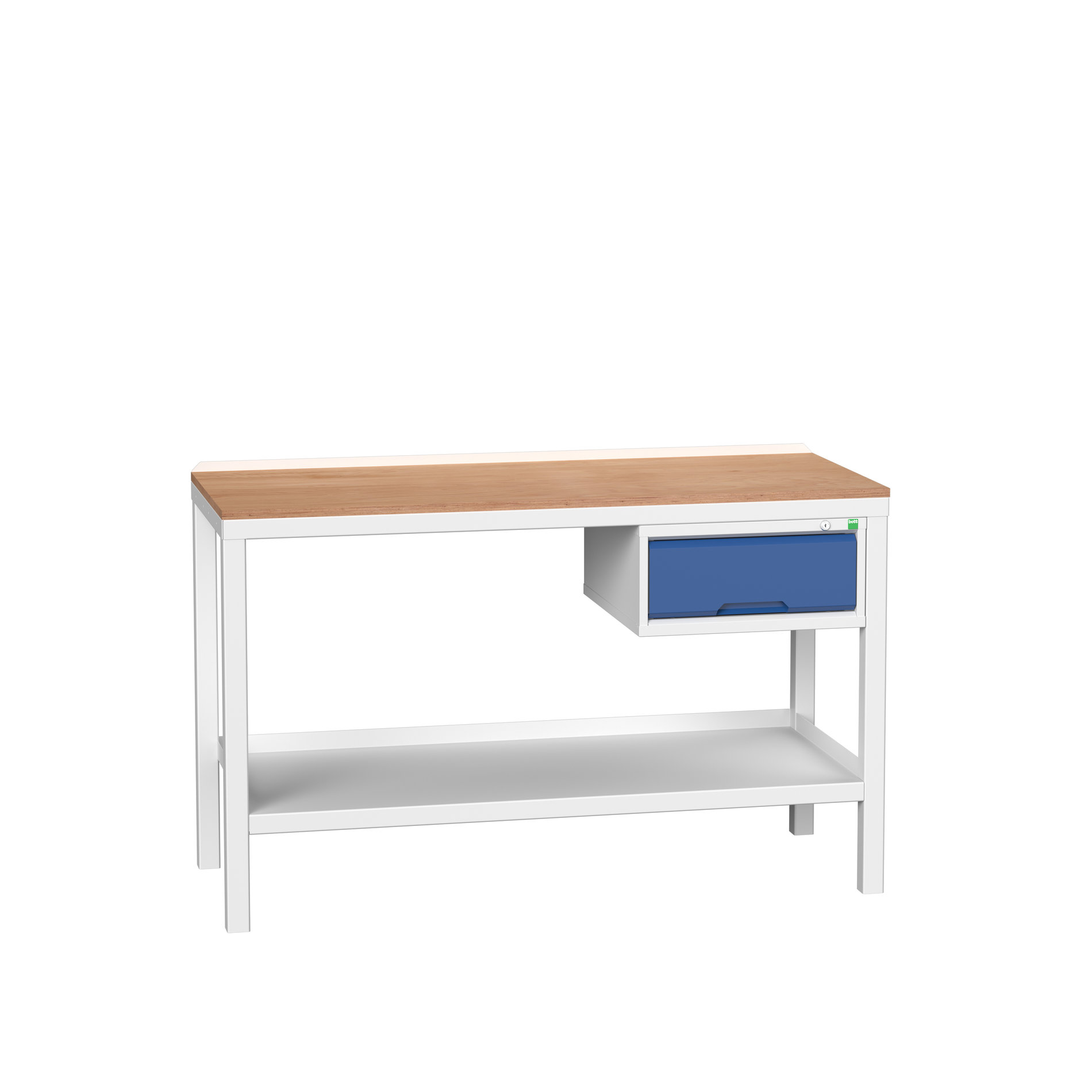 Bott Verso Welded Bench With 1 Drawer Cabinet